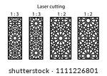 set of decorative vector panels ...   Shutterstock .eps vector #1111226801