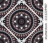 abstract seamless mandala... | Shutterstock .eps vector #1111229987