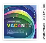 hiring people concept with... | Shutterstock .eps vector #1111242401