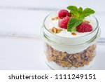 tasty natural and healthy... | Shutterstock . vector #1111249151