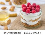 tasty natural and healthy... | Shutterstock . vector #1111249154