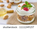 tasty natural and healthy... | Shutterstock . vector #1111249157