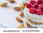tasty natural and healthy... | Shutterstock . vector #1111249184