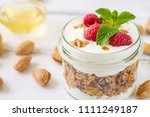 tasty natural and healthy... | Shutterstock . vector #1111249187