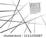 random chaotic lines abstract... | Shutterstock .eps vector #1111250087
