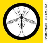 mosquito silhouette vector... | Shutterstock .eps vector #1111250465