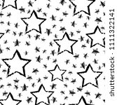 abstract seamless stars pattern.... | Shutterstock . vector #1111322141