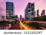 mumbai skyline  lower parel  | Shutterstock . vector #1111331297
