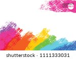 artistic backdrop  vector with...   Shutterstock .eps vector #1111333031