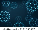abstarct scientific background... | Shutterstock .eps vector #1111355507