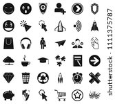 interface of pictogram icons...   Shutterstock . vector #1111375787