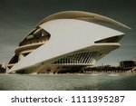 valencia  spain  circa december ... | Shutterstock . vector #1111395287