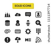 user icons set with add user ...