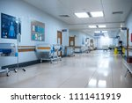 hallway the emergency room and... | Shutterstock . vector #1111411919