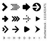 flat design vector arrow icon...