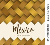 traditional colorful mexican... | Shutterstock .eps vector #1111427099