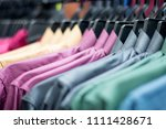 row of colorful traditional... | Shutterstock . vector #1111428671
