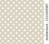 golden abstract geometric...   Shutterstock .eps vector #1111429487