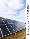 detail of the solar power panel ... | Shutterstock . vector #1111434371