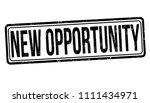 new opportunity grunge rubber... | Shutterstock .eps vector #1111434971