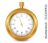 vector illustration of gold... | Shutterstock .eps vector #111144911