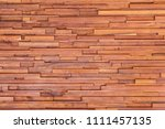 wood plank wall background for... | Shutterstock . vector #1111457135