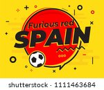 speech bubble spain with icon...   Shutterstock .eps vector #1111463684
