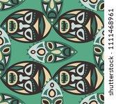 seamless pattern. abstract... | Shutterstock .eps vector #1111468961