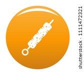 shish kebab icon. simple... | Shutterstock .eps vector #1111472321