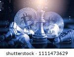 modern way of exchange. bitcoin ... | Shutterstock . vector #1111473629