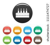beer crate icon. simple... | Shutterstock .eps vector #1111474727
