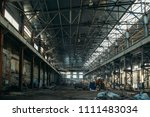 Ruined Industrial Hall Of...