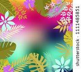 hello summer background | Shutterstock .eps vector #1111485851