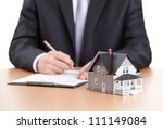 real estate concept  ... | Shutterstock . vector #111149084