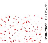 confetti of two colored rhombs... | Shutterstock .eps vector #1111497644