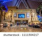 las vegas  nevada   usa   june...   Shutterstock . vector #1111504217