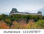 wakayama castle  kansai  japan... | Shutterstock . vector #1111507877