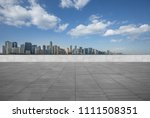 panoramic skyline and buildings ... | Shutterstock . vector #1111508351