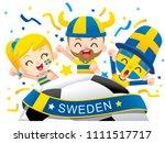 vector illustration of sweden...   Shutterstock .eps vector #1111517717