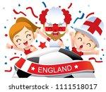 vector illustration of england... | Shutterstock .eps vector #1111518017