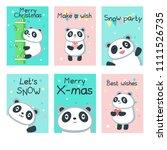 Cute Panda Christmas Greeting...