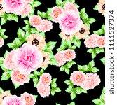 abstract elegance seamless... | Shutterstock . vector #1111527374