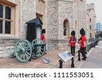 london  uk   april 2018  the... | Shutterstock . vector #1111553051