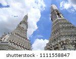 buddhism art temple in thailand | Shutterstock . vector #1111558847