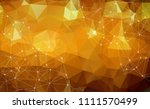 abstract polygonal space low... | Shutterstock .eps vector #1111570499