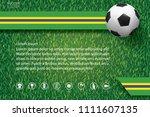 2018 world championship... | Shutterstock .eps vector #1111607135