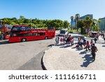 lisbon  portugal   may 19  2017 ... | Shutterstock . vector #1111616711