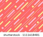 seamless pattern with colorful... | Shutterstock .eps vector #1111618481