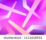 abstract gradient shape. modern ... | Shutterstock .eps vector #1111618931