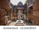 muang sing historical park ... | Shutterstock . vector #1111625015